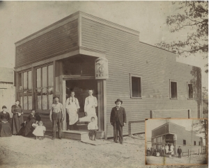 The Richardville Valley Sample Room circa 1898