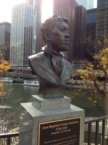 Bust of Jean Baptiste Point de Sable