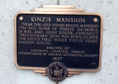 Kinzie Plaque