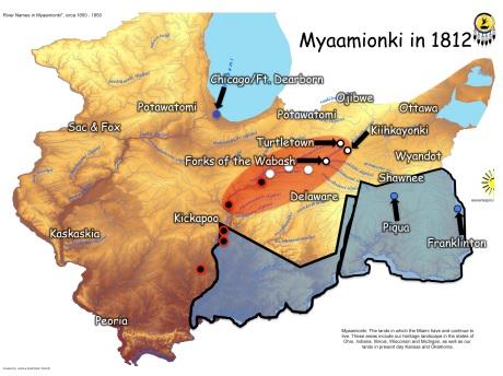 Myaamionki in 1812