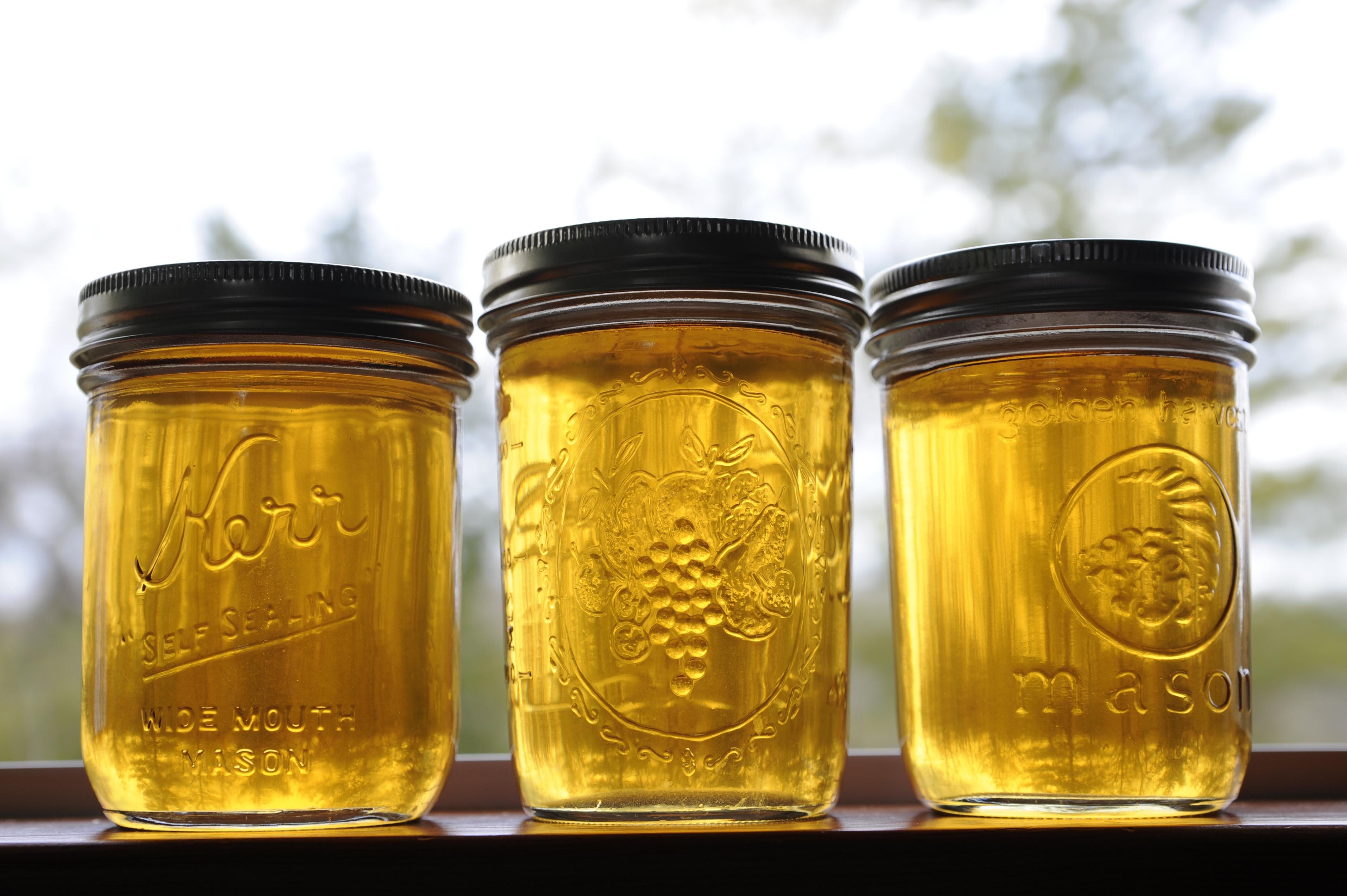 iihkisaminki 'maple syrup' in a window