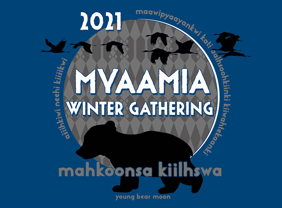 Announcement of the 2021 Myaamia Winter Gathering