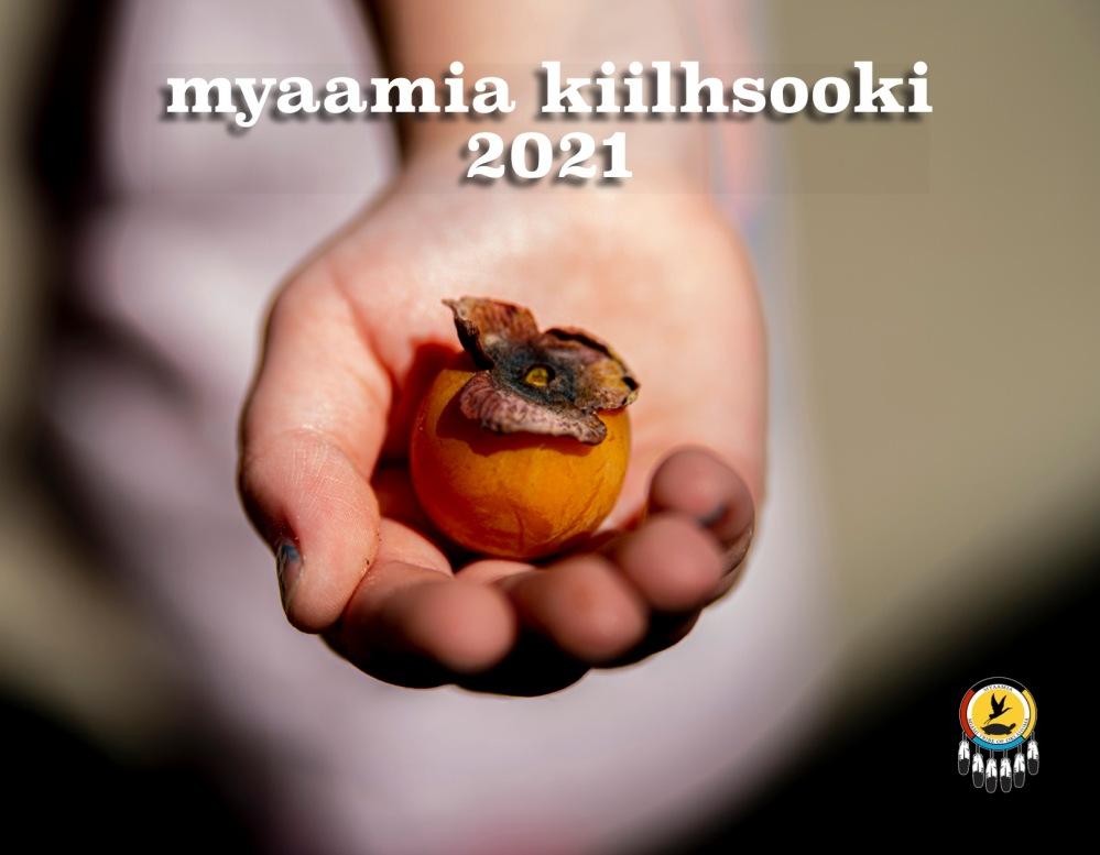 Cover for the 2021 Myaamia Kiilhsooki